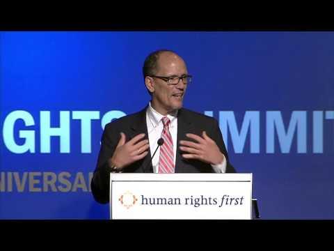 2015 Human Rights Summit - Keynote Address: Thomas E. Perez, U.S. Secretary of Labor