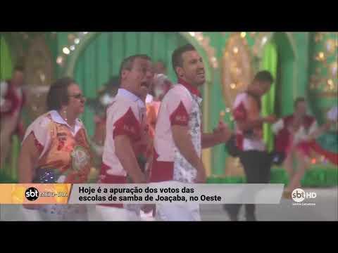 Desfile das escolas de samba de Joaçaba