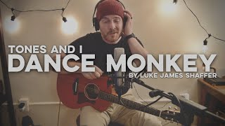 "TONES AND I - ""Dance Monkey"" Live Loop Cover by Luke James Shaffer Resimi"