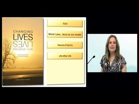 "Book Presentation: ""Changing Lives with Spiritism"" by Heather Bollech-Fonseca"
