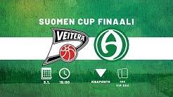 Suomen Cup Finaali: Veiterä - Akilles, Live
