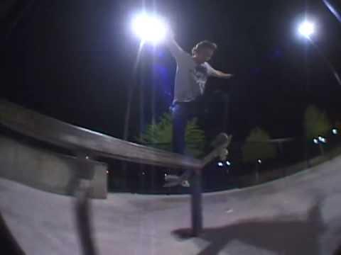 Barton Damer at Allen Skate park