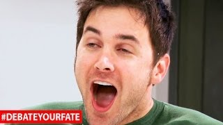 Download Video GAME SHOW HOST FAKES ORGASM - Debate Your Fate MP3 3GP MP4