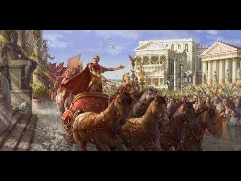 "Time-lapse Digital Painting ""Ave Caesar"""