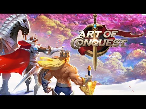 ART OF CONQUEST ! MASSIVE RTS RPG MMO ! Best Strategy game on Mobile ? (1st Look iOS Gameplay)