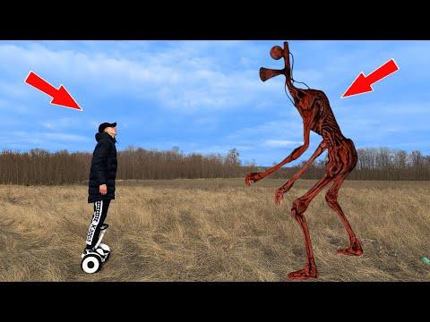 Siren Head In Real Life - Horror Short Film