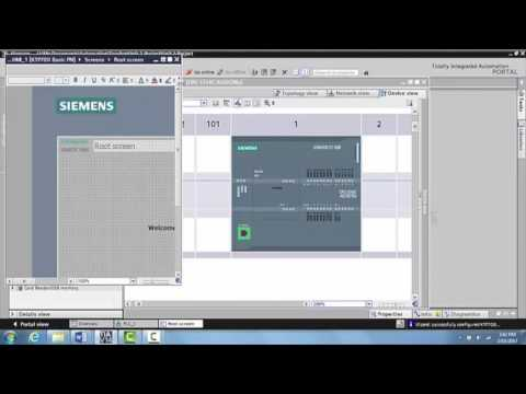 Networking the PLC and the HMI in Siemens TIA Portal V14 - Unit 5.1