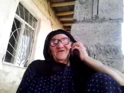 Kurdish Funny Old Woman Calling