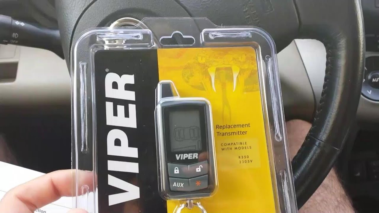 medium resolution of how to pair program viper 2 way pager remote control 7345v hd