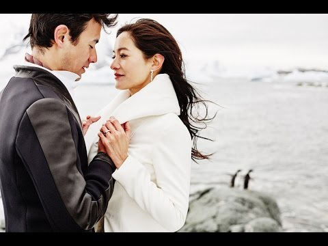 Antarctica Wedding of Janet Hsieh and George Young 我們的南極婚禮