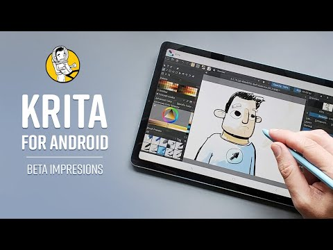 First Impressions: Krita For Android Beta - A Free Drawing App