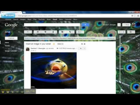 View email images in gmail