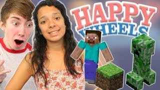 Happy Wheels - Minecraft Fail - Part 4  Let's Play Happy Wheels