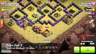Clash of Clans - Town Hall 8 = BROKEN (#PatMath)