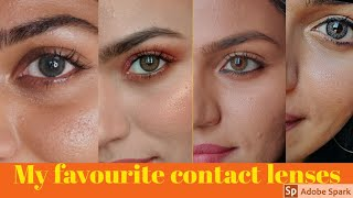 Requested!! My favourite contact lens collection!!Most natural!!