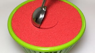 Very Satisfying and Relaxing Compilation 122 Kinetic Sand ASMR