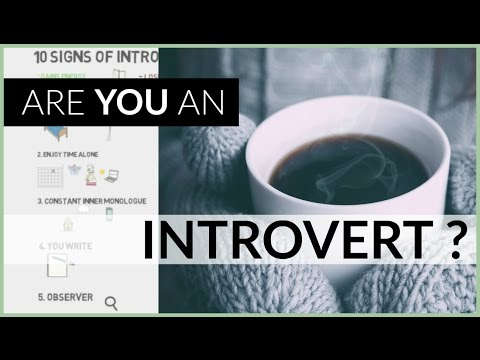 10 Introvert Signs | Personality Type