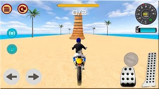 Motocross Beach Race Jumping 3D #Dirt Motor Cycle Racer Games #Bike Game