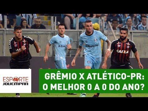 Grêmio x Atlético-PR: o MELHOR 0 a 0 do ano? Veja ANÁLISE!