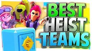Brawl Stars - TOP 3 Brawler Combos for Heist! Best Teams for Heist!