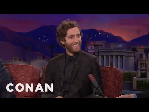 How Thomas Middleditch Coaxes Butthead Out Of Mike Judge   CONAN on TBS