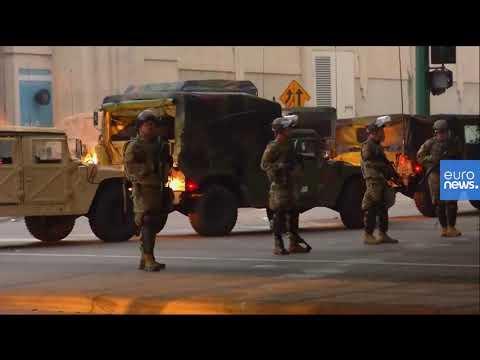 عناصر من الحرس الوطني الأميركي ينتشرون في مينيابوليس بعد 3 أيام من الاضطرابات  - نشر قبل 58 دقيقة