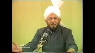 Friday Sermon 6 October 1989