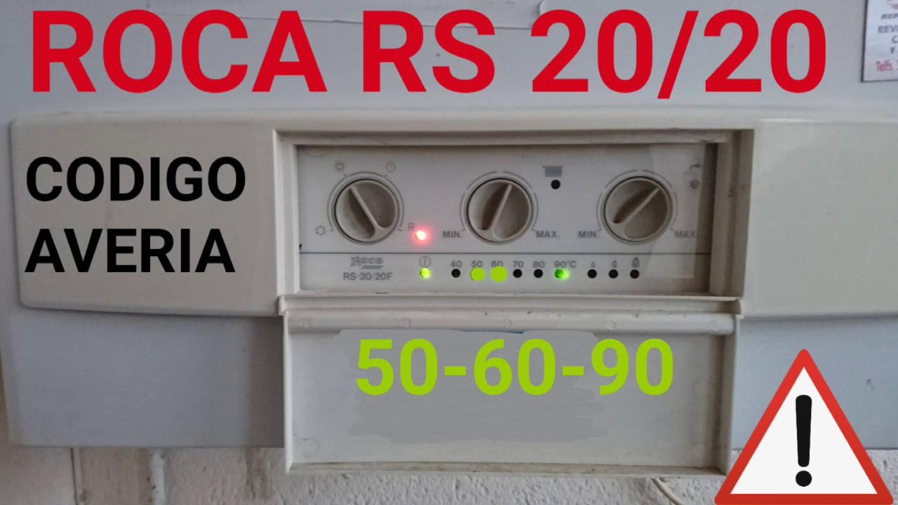 Roca victoria codigo 50 60 90 otro motivo doovi for Averia caldera roca