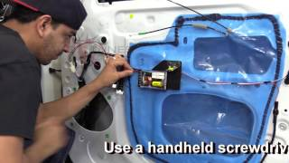 How to install component speakers in your Toyota Tundra crewmax double cab