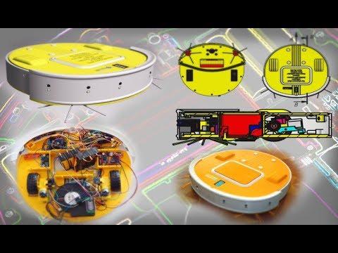 DIY MAKE 3D-PRINTED ROBOTIC VACUUM CLEANER WITH ARDUINO ...