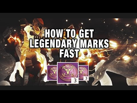 how to get lots of legendary marks