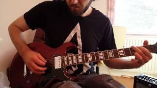 Schecter S-1 Diamond Series Guitar Demo