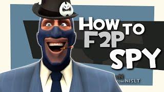 TF2: How to F2P spy [FUN]