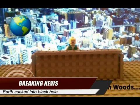 Lego News: Earth Sucked Into Black Hole - YouTube
