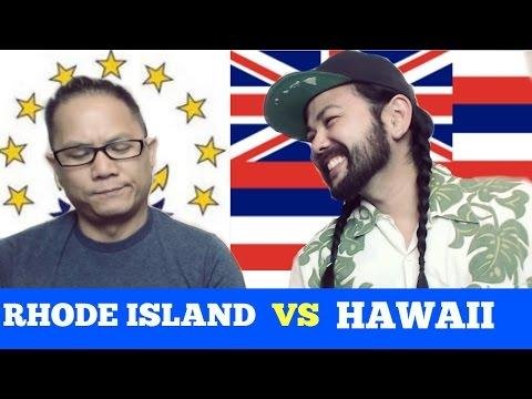 HAWAII PIDGIN vs RHODE ISLAND SLANG