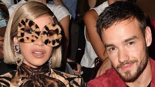 Cardi B and Liam Payne BONDED Over Babies at Dolce & Gabbana Fashion Show