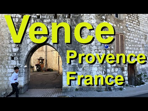 Vence, Provence, France, complete tour