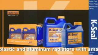 K-Seal Fixes Head Gasket Leak Symptoms & Cracked Engine Blocks