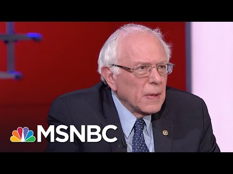 Bernie Sanders Knocks Donald Trump