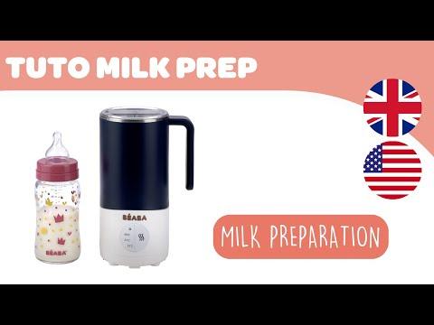 BEABA - MILK PREP - Instructions for use :  Milk Preparation
