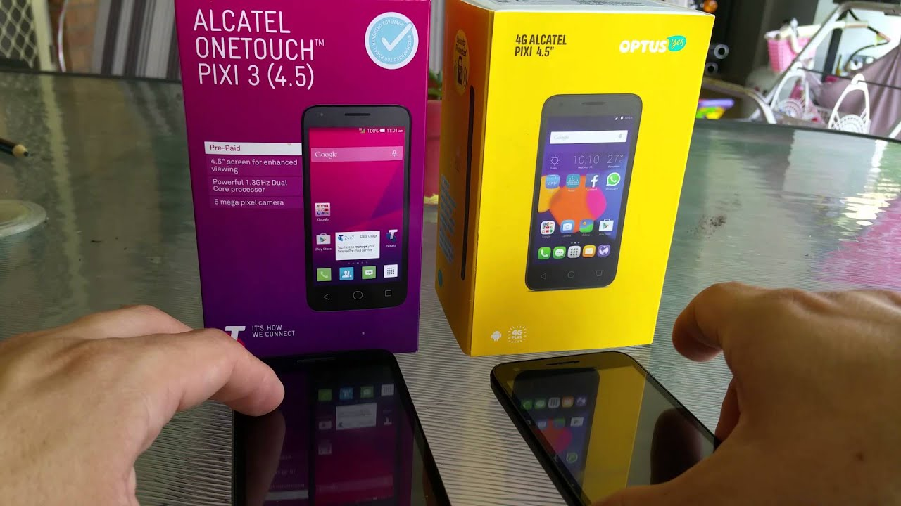 how to get videos off alcatel pixi 3
