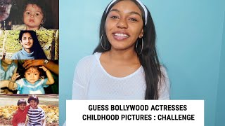 Guess The Bollywood Actress 25 Bollywood Actresses Childhood Pictures | CHALLENGE