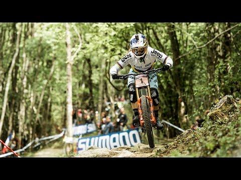 Rachel Atherton's Dominating Winning Run | UCI Mountain Bike World Cup 2017