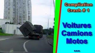 Compilation crash  Voitures n°419 en HD || Car crash compilation || Top speed motor - #1