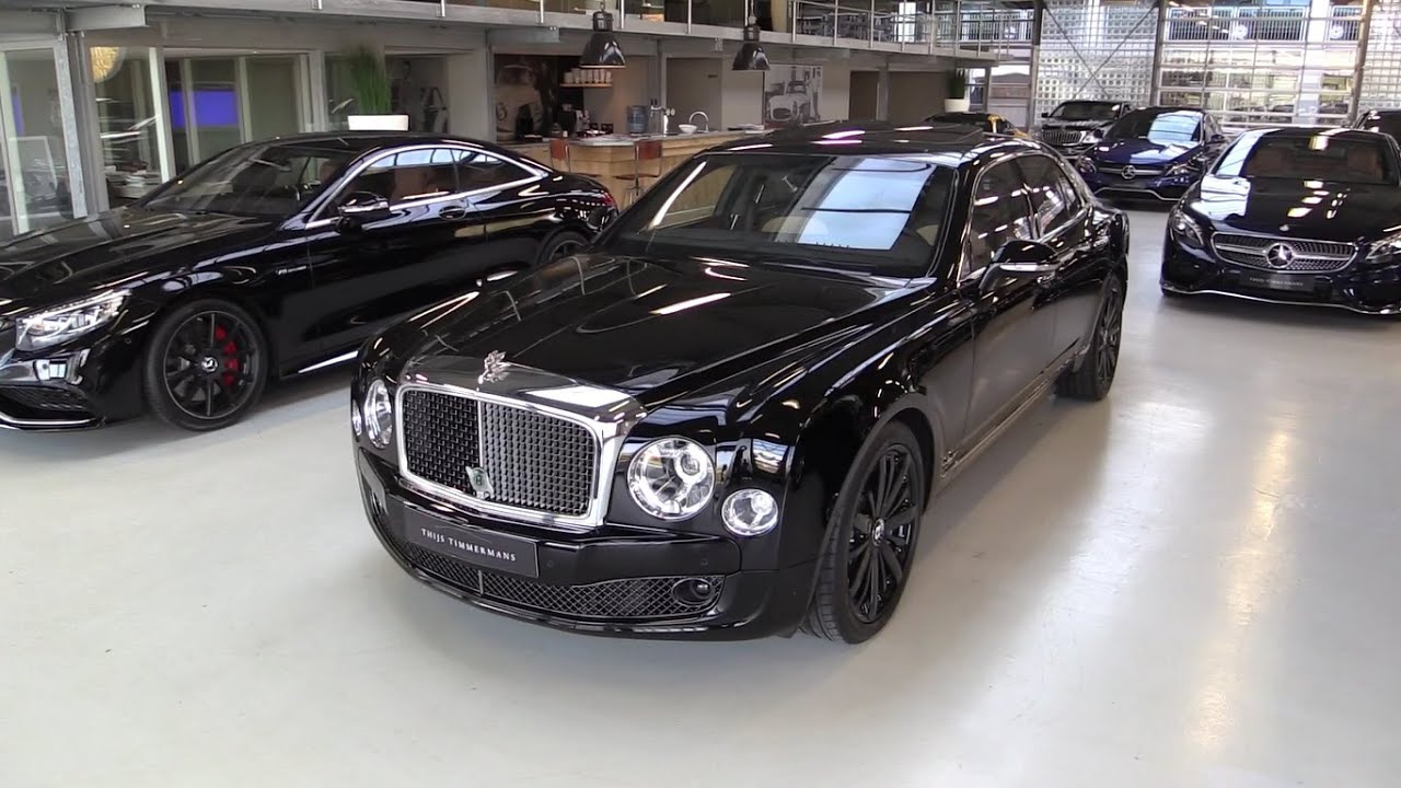 inside the bentley mulsanne blue train start up exhaust. Black Bedroom Furniture Sets. Home Design Ideas