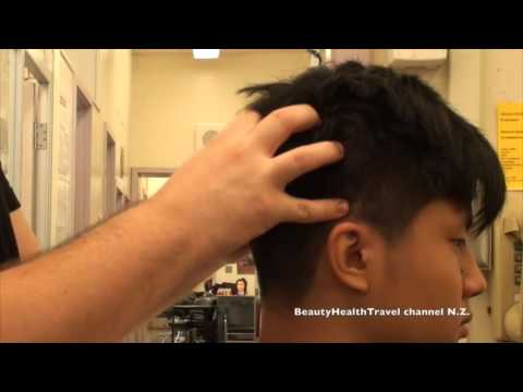 After Haircut Men's Neck and Scalp Massage