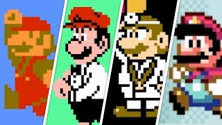 Evolution of Mario (1981 - 1990)