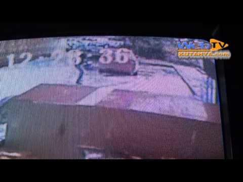 kütahyadaki kadın cinayeti güvenlik kamerasında