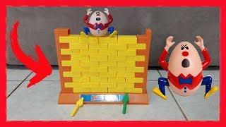 Jogo Não Derrube o MURO | Humpty Dumpty Wall Game