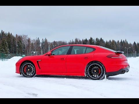 Все секреты зимнего вождения. Как ездить на Porsche